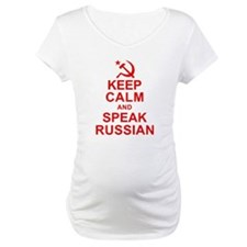 Keep Calm and Speak Russian Shirt