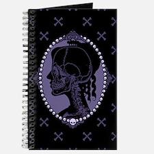 Gothic Skull Cameo Journal