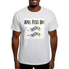April Fools Day Pregnant T-Shirt