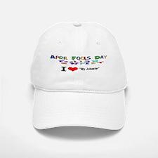 April Fools Day My Jokester Baseball Baseball Baseball Cap
