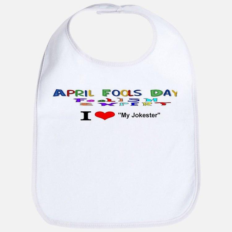 April Fools Day My Jokester Bib