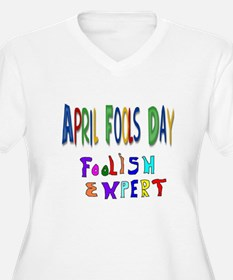 April Fools Day Plus Size T-Shirt