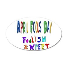 April Fools Day Wall Decal