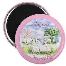 Goat Angora Serenity Magnet