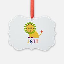 Jett Loves Lions Ornament