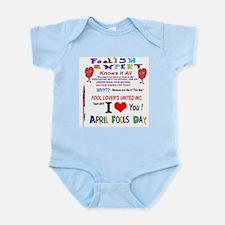 April Fools Foolish Expert Infant Bodysuit