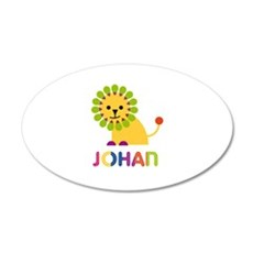 Johan Loves Lions Wall Decal