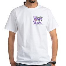 Fights Like a Girl 42.9 H Lymphoma Shirt