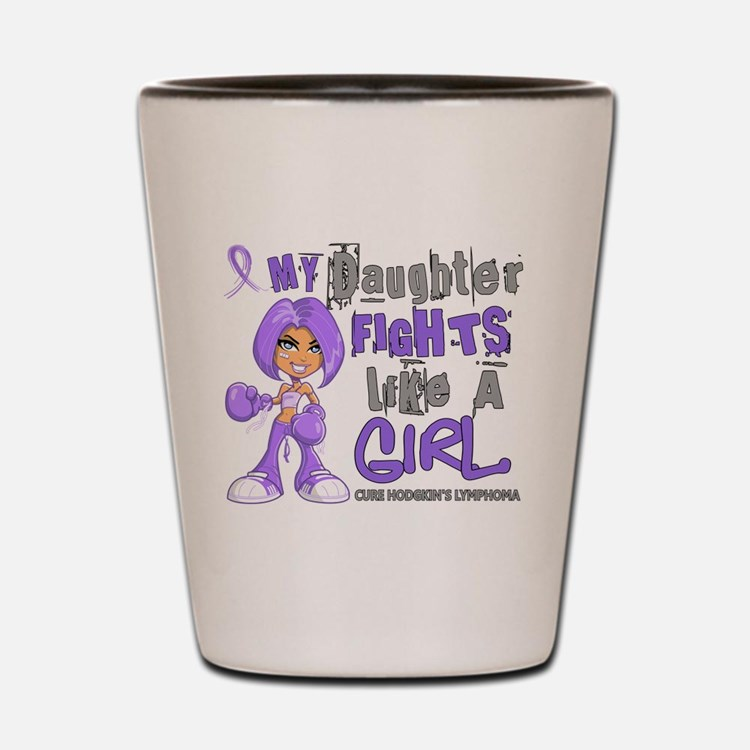 Licensed Fights Like a Girl 42.9 H Lymp Shot Glass