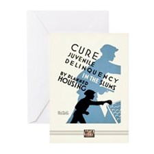 Cure Juvenile Delinquency Cards (10 Pack)