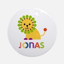 Jonas Loves Lions Ornament (Round)
