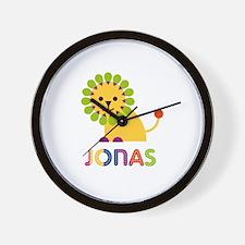 Jonas Loves Lions Wall Clock