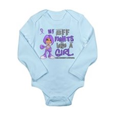 Licensed Fights Like a Long Sleeve Infant Bodysuit