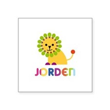 Jorden Loves Lions Sticker