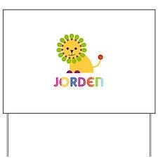 Jorden Loves Lions Yard Sign