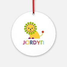 Jordyn Loves Lions Ornament (Round)