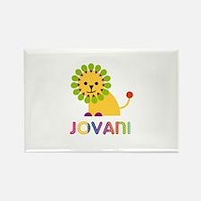 Jovani Loves Lions Rectangle Magnet