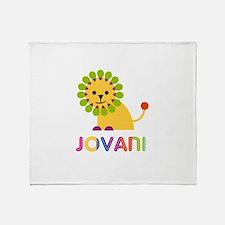 Jovani Loves Lions Throw Blanket