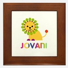 Jovani Loves Lions Framed Tile