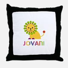 Jovani Loves Lions Throw Pillow