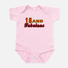 18 and fabulous Infant Bodysuit