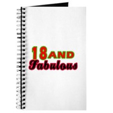18 and fabulous Journal