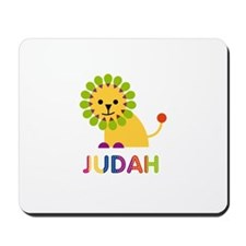 Judah Loves Lions Mousepad