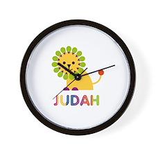 Judah Loves Lions Wall Clock