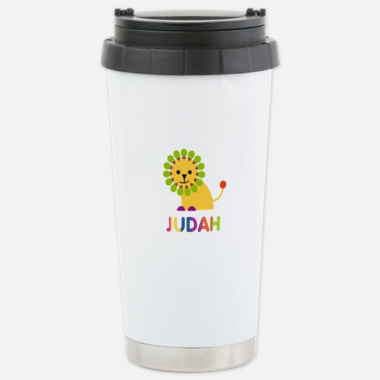 Judah Loves Lions Travel Mug
