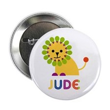 """Jude Loves Lions 2.25"""" Button"""