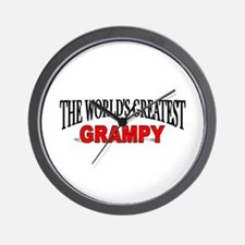 """The World's Greatest Grampy"" Wall Clock"