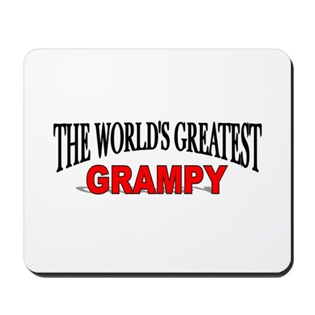 """""""The World's Greatest Grampy"""" Mousepad"""