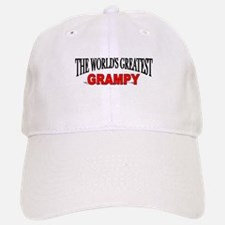 """The World's Greatest Grampy"" Baseball Baseball Cap"