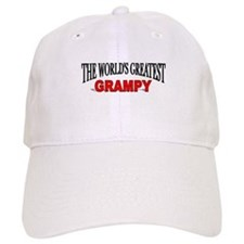"""The World's Greatest Grampy"" Baseball Cap"
