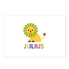 Julius Loves Lions Postcards (Package of 8)