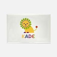 Kade Loves Lions Rectangle Magnet