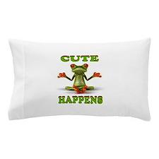 CUTE FROG Pillow Case
