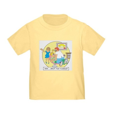 ...about that Flossing Toddler T-Shirt