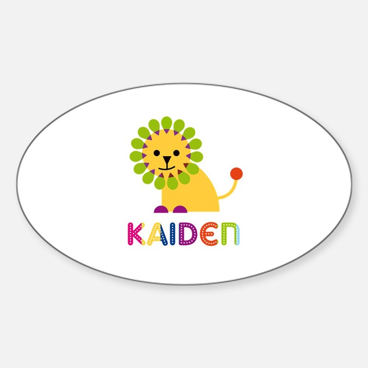 Kaiden Loves Lions Decal