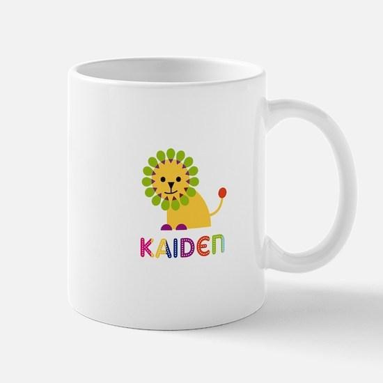 Kaiden Loves Lions Mug