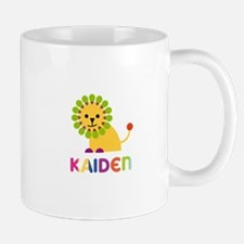 Kaiden Loves Lions Small Small Mug