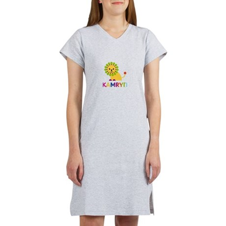 Kamryn Loves Lions Women's Nightshirt