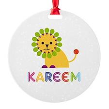 Kareem Loves Lions Ornament