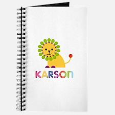 Karson Loves Lions Journal