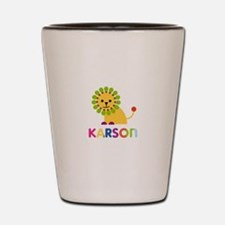 Karson Loves Lions Shot Glass