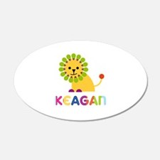 Keagan Loves Lions Wall Decal