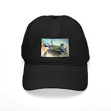 Blue Crab Baseball Hat