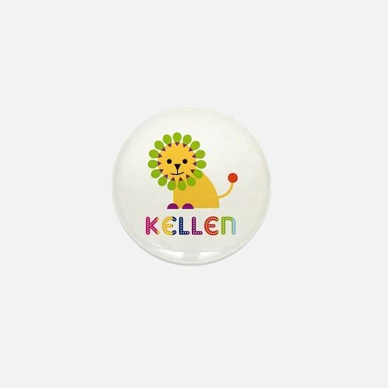 Kellen Loves Lions Mini Button