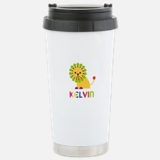 Kelvin Loves Lions Travel Mug