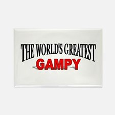 """""""The World's Greatest Gampy"""" Rectangle Magnet"""